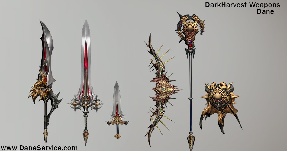 Read more about the article DarkHarvest Weapons